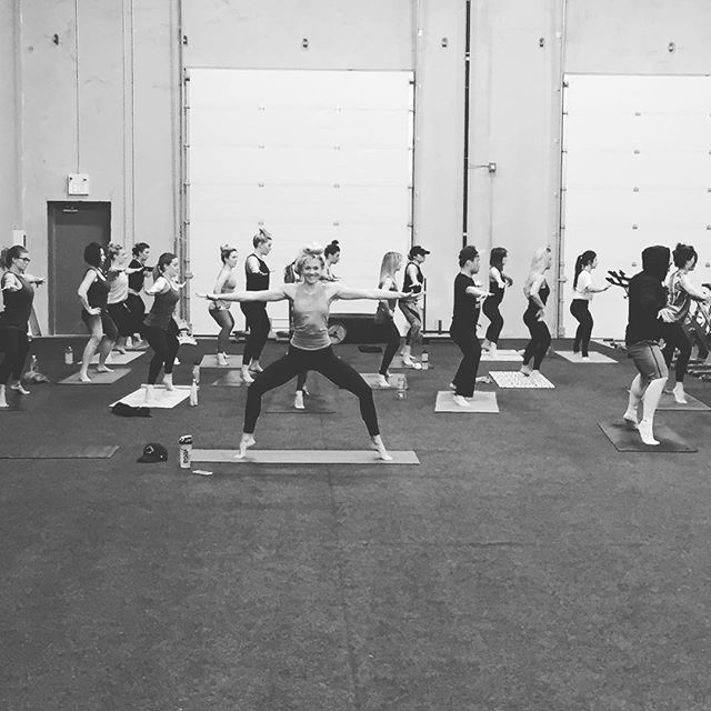 with @breeaguhle today at 4:30 for athletes. Drop ins are also welcome. $10 #