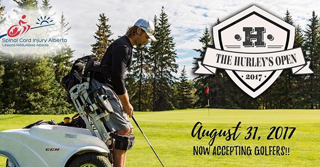 Join Mike Hurley and us for a day on the greens Thursday, August 31st! Support a great cause while having a great time. When: August 31, 2017 Where: RedTail Landing Golf Club Program: 11:00 - 12:30 pm – Registration 1:00 pm – Tee off For more information visit https://sci-ab.akaraisin.com/Common/Event/Home.aspx?seid=14214&mid=8