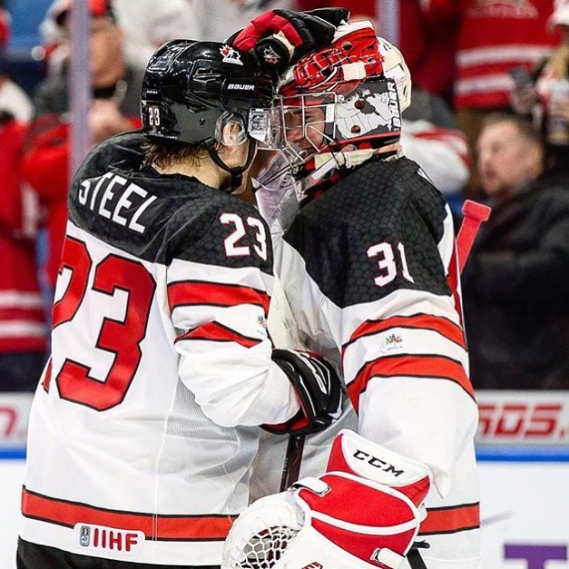 Good luck to Firstline athletes @samsteel_23 and @c_hart70 in the World Junior Semi Final vs ??