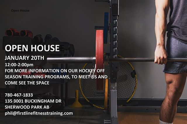 Wanting to meet us and get more information about our Off Season Training Programs? Come by January 20th 12:00-2:00pm and check it out for yourself.